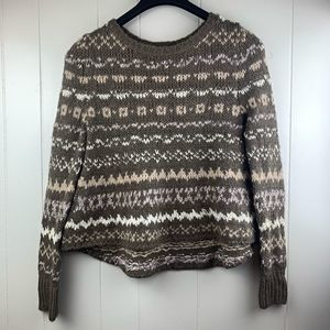 FREE PEOPLE | 'Through the Storm' Sweater in Taupe